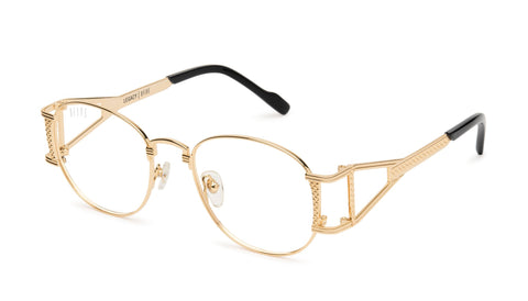 The Book Club Dot A Freckle 53mm Black Marker Eyeglasses / Screen Blue Light Clear Lenses
