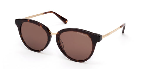 Kenneth Cole - KC7228 Dark Havana Sunglasses / Brown Polarized Lenses