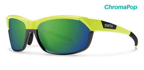 Smith - Pivlock Overdrive Acid Sunglasses / ChromaPop Sun Green Mirror Lenses