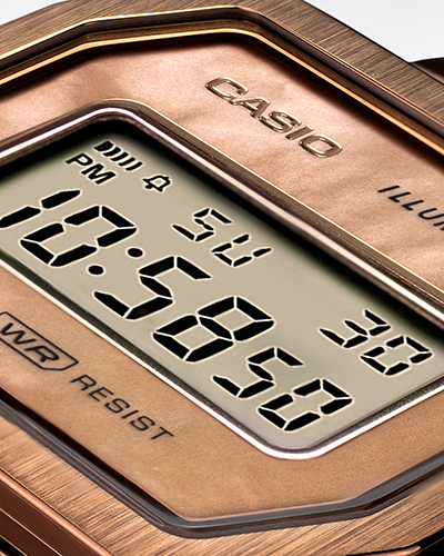 Casio - A1000RG-5 Vintage Collection Gold Watch