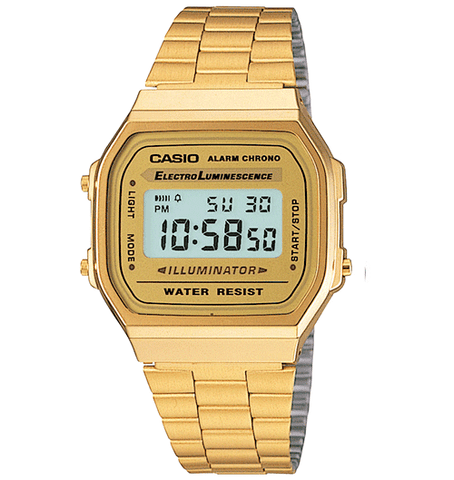 Casio - A168WG-9VT Vintage Collection Gold Watch