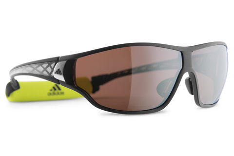 Adidas - Tycane Pro Matte Black / Grey Sunglasess, LST polarized Silver H Lenses