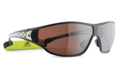 Adidas - Tycane Pro Matte Black / Lab Lime Sunglasess, LST polarized Silver H Lenses