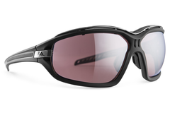 Adidas - Evil Eye Evo Pro Black Matte / Gray Sunglasses,  LST Active Silver H Lenses