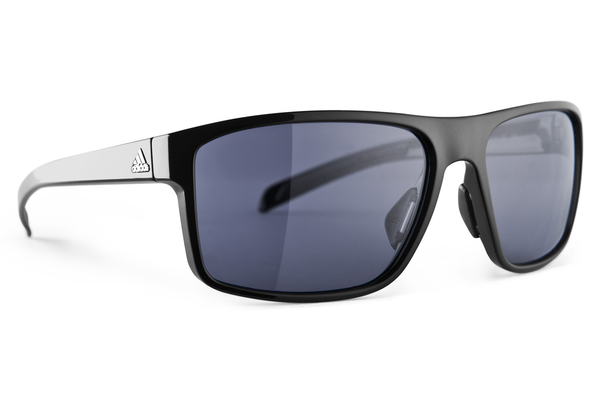 Adidas - Whipstart Black Shiny / Black Sunglasses, Gray Lenses