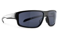 Adidas - Kumacross 2.0 Black Shiny Sunglasses, Gray Lenses