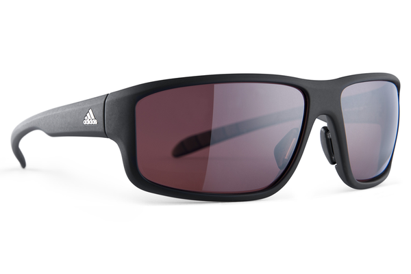 Adidas - Kumacross 2.0 Black Matte Sunglasses, LST Polarized Silver Lenses