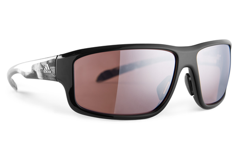 Adidas - Kumacross 2.0 Black Shiny Sunglasses, LST Active Silver Lenses