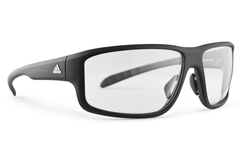 Adidas - Kumacross 2.0 Black Matte Sunglasses, Vario Clear / Gray Lenses