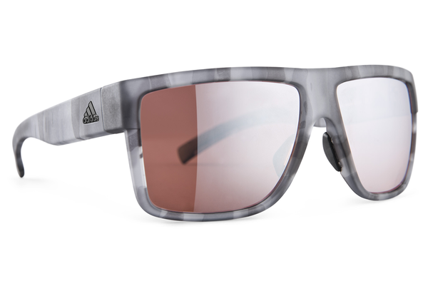 Adidas - 3Matic Gray Havanna Sunglasses, LST Active Silver Lenses