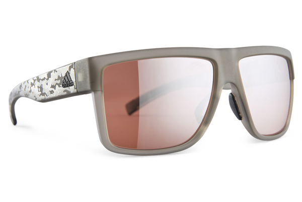 Adidas - 3Matic Clay Camo Sunglasses, LST Active Silver Lenses
