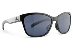 Adidas - Excalate Black Shiny Sunglasses, Gray Polarized Lenses