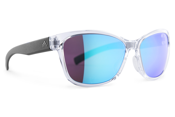 Adidas - Excalate Crystal Shiny / Blue  Sunglasses, Blue Mirror Lenses