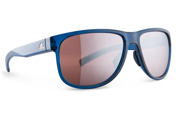 Adidas - Sprung Blue Shiny Sunglasses, LST Active Silver Lenses