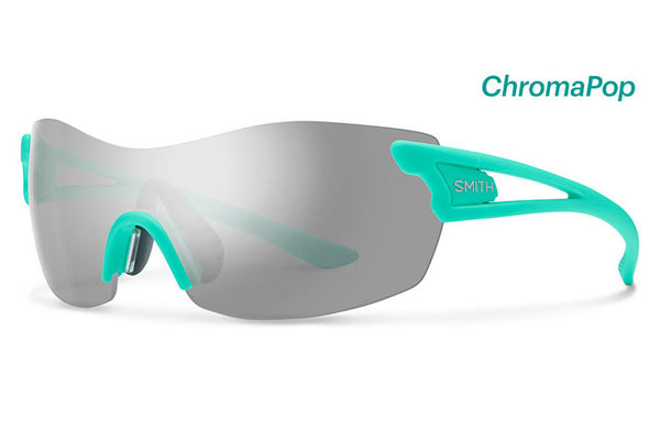 Smith - Pivlock Asana Matte Opal Sunglasses, ChromaPop Platinum Lenses