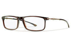 Smith - Abram Large Fit Brown Rx Glasses