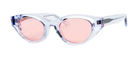 Thierry Lasry - Acidity Clear Sunglasses / Pink Lenses
