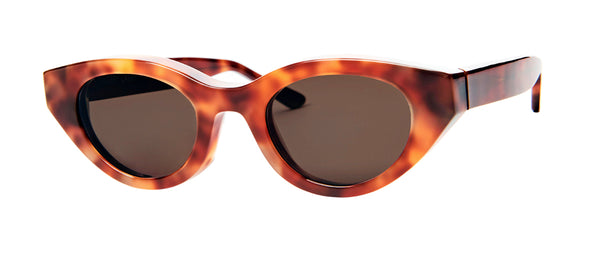 Thierry Lasry - Acidity Havana Tortoise Sunglasses / Solid Brown Lenses
