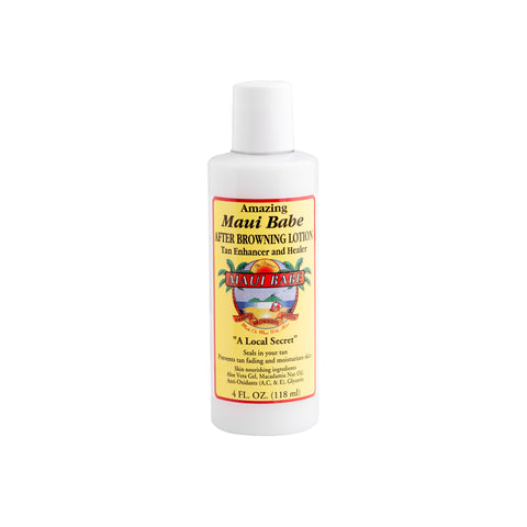 Maui Babe - Tan Enhancer and Healer 4oz After Browning Lotion