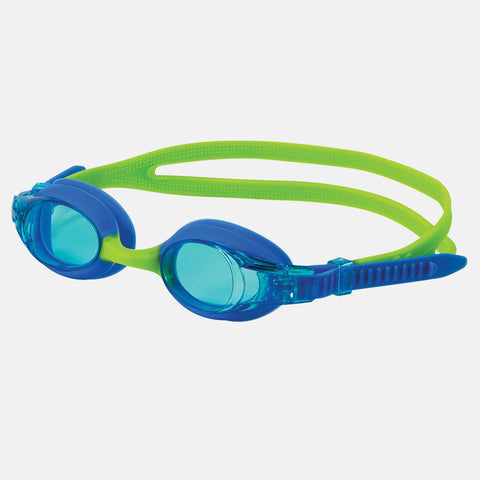 Leader - Starfish Ages 3-6 Advanced Series Blue Green Swim Goggles / Blue Lenses
