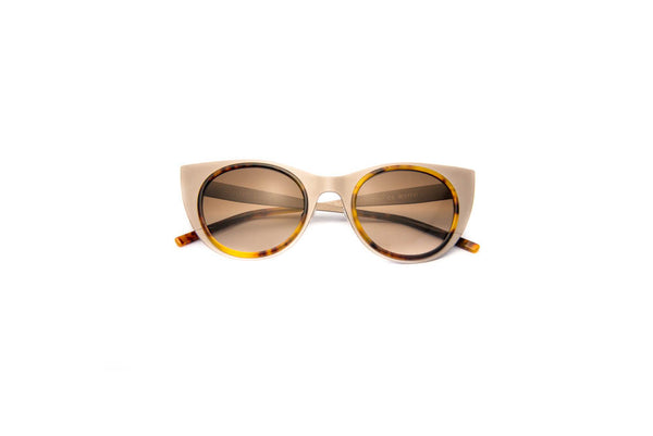 Kyme - Angel Light Satin Silver Sunglasses