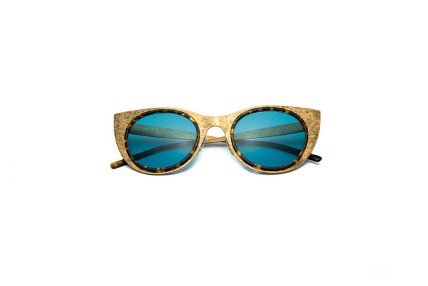 Kyme - Angel Light Antique Gold Sunglasses