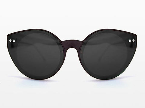 Spitfire - Alpha 2 Black Sunglasses, Black Lenses