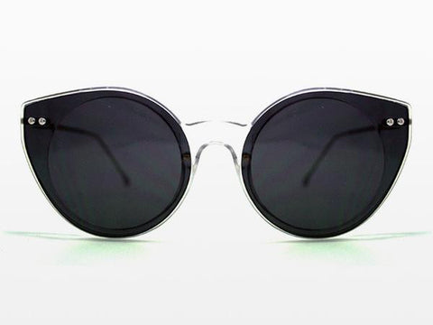 Spitfire - Alpha 2 Clear Sunglasses, Black Lenses