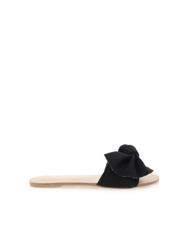 BiLLiNi - Women's Alpha Black Linen Slides