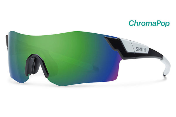 Smith - Pivlock Arena Black Sunglasses, ChromaPop Sun Green Mirror Lenses