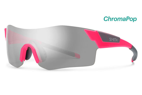Smith - Pivlock Arena Matte Shocking Pink Sunglasses, ChromaPop Platinum Lenses