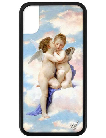 Wildflower - Angels iPhone XS/X Phone Case
