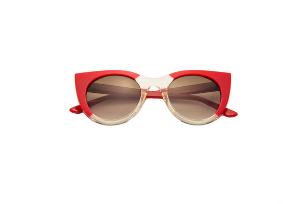 Kyme - Angel Red & Champagne Sunglasses