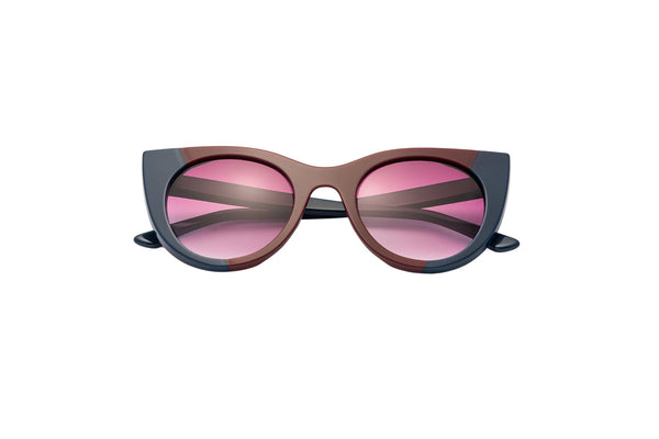 Kyme - Angel Blue & Bordeaux Sunglasses