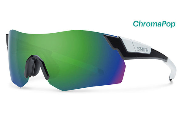 Smith - Pivlock Arena Max Black Sunglasses, ChromaPop Sun Green Mirror Lenses
