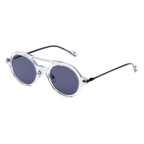 Adidas Originals - AOK004 Crystal Sunglasses / Blue Mirror Lenses