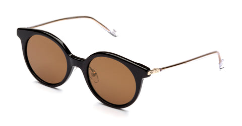 Adidas Originals - AOK007 Black Sunglasses / Gold Mirror Lenses
