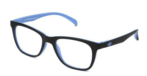 Adidas Originals - AOR008O Black + Sky Led Eyeglasses / Demo Lenses
