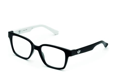 Adidas Originals - AOR013O Black + White Eyeglasses / Demo Lenses
