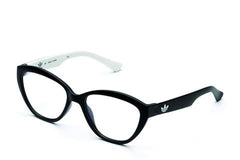 Adidas Originals - AOR015O Black + White Eyeglasses / Demo Lenses
