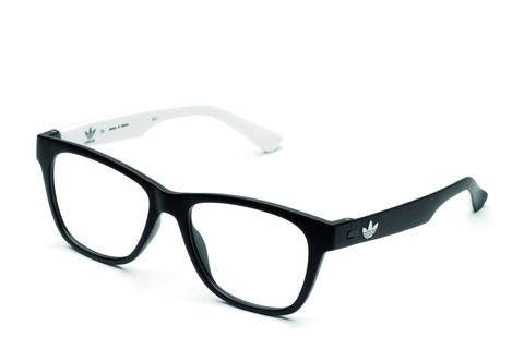 Adidas Originals - AOR016O Black + White Eyeglasses / Demo Lenses