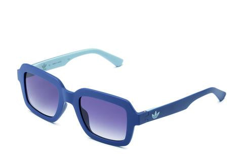 Adidas Originals - AOR021 Blue Sunglasses / Shaded Grey Lenses