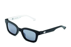 Adidas Originals - AOR023 Black + White Sunglasses / Mirror Lenses
