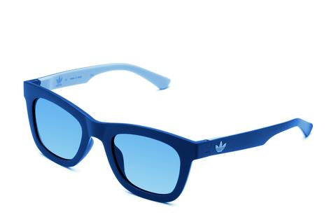 Adidas Originals - AOR024 Blue + Light Blue Sunglasses / Shaded Blue Lenses