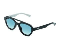 Adidas Originals - AOR025 Black Sunglasses / Black Mirror Lenses