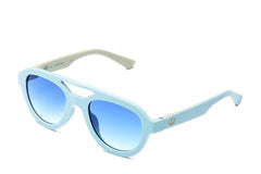 Adidas Originals - AOR025 Light Blue Sunglasses / Shaded Blue Lenses