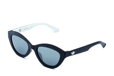 Adidas Originals - AOR026 Black Sunglasses / Silver Mirror Lenses