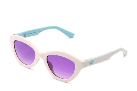 Adidas Originals - AOR026 Tan Sunglasses / Shaded Violet Lenses