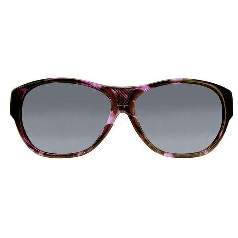 Jonathan Paul Fitovers - Allure Grape Demi Fitover Sunglasses / Polarvue Gray Lenses
