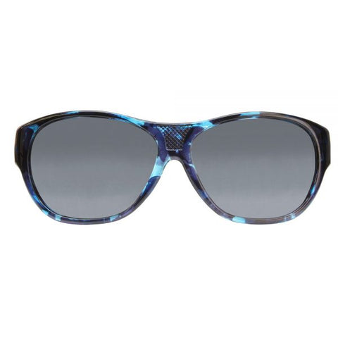 c41f27a7cf Jonathan Paul Fitovers - Allure Blue Purple Demi Fitover Sunglasses    Polarvue Gray Lenses